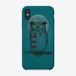 Winter Owl Ii Phone Case