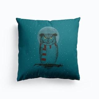 Winter Owl Ii Cushion