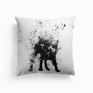 Wet Dog Cushion
