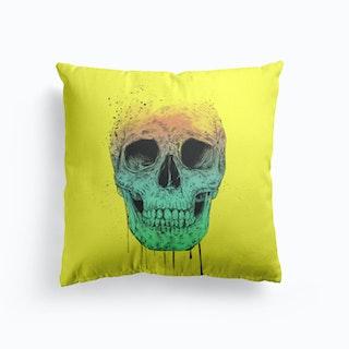 Pop Art Skull Cushion