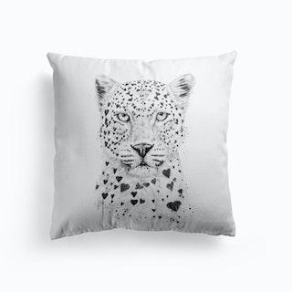 Lovely Leopard Cushion