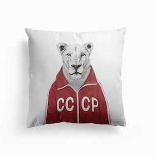 Soviet Lion Cushion