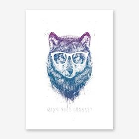 Who's Your Granny Art Print