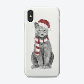 Xmas Cat Phone Case