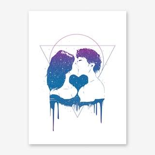 Cosmic Love II Art Print