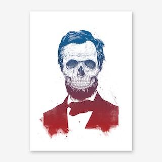 Dead Shaman Art Print