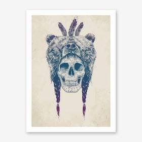 Dead Lincoln Art Print