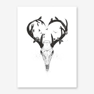 Never Ending Love II Art Print