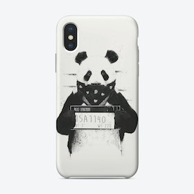 Bad panda  iPhone Case