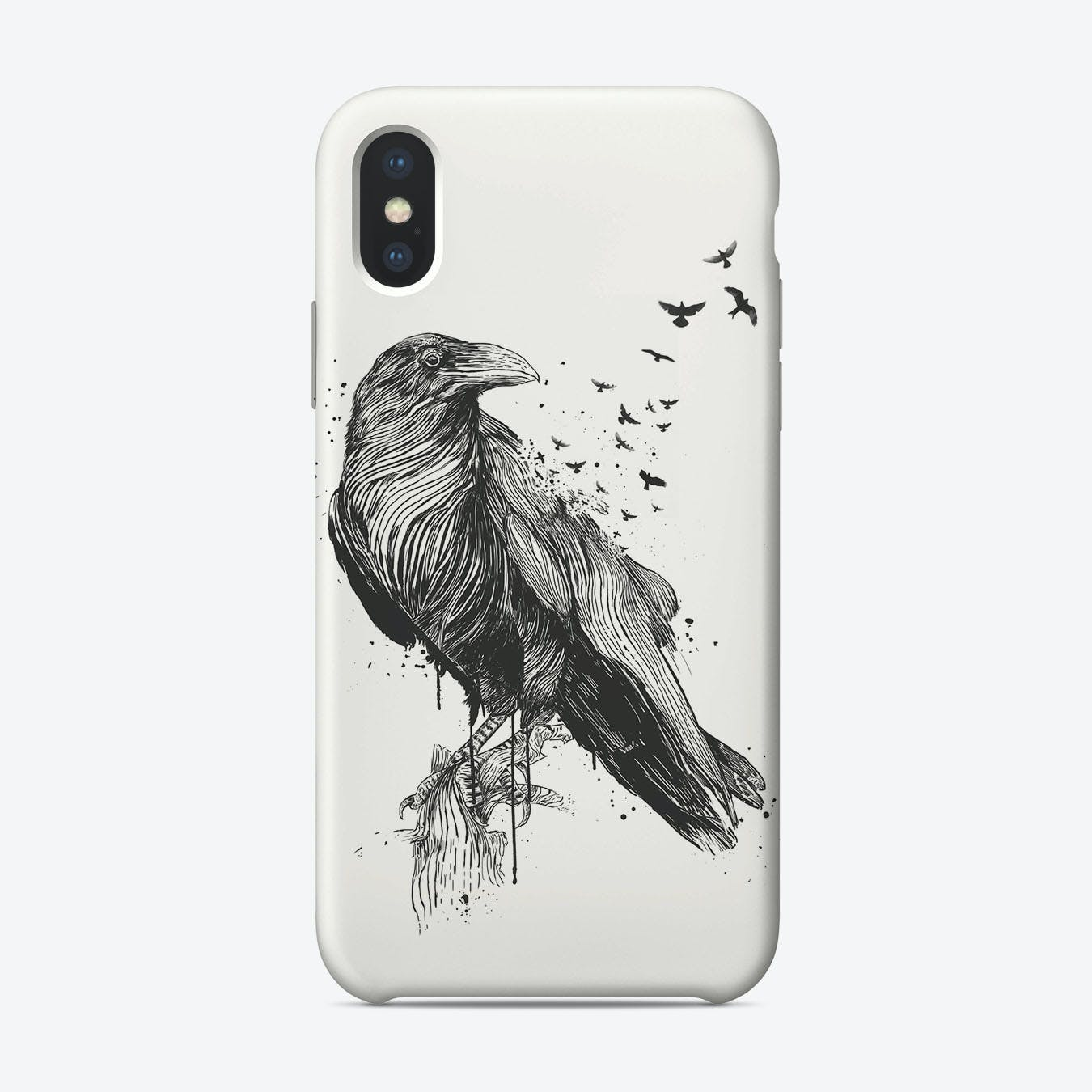 Born to be free (bw)  iPhone Case
