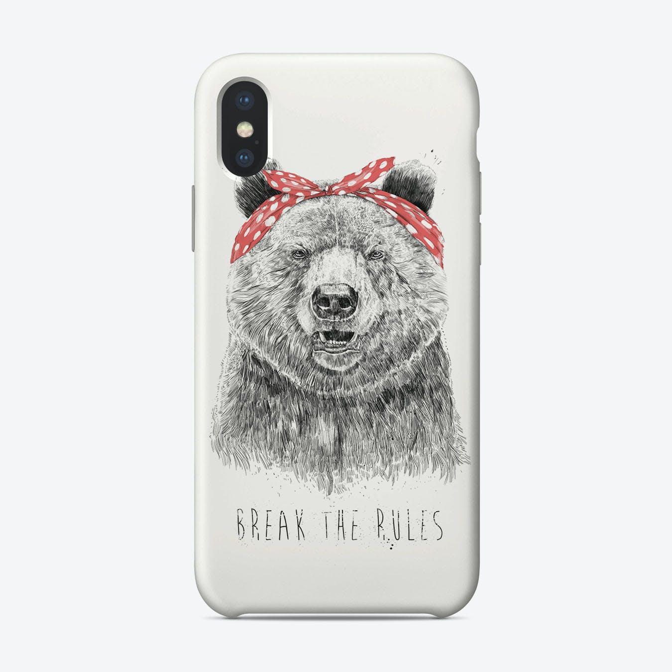Break the rules  iPhone Case