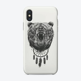 Don't wake the bear  iPhone Case
