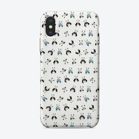 Panda pattern  iPhone Case