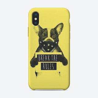 Rebel dog II  iPhone Case