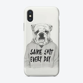Same shit every day  iPhone Case