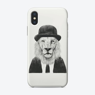 Sir lion  iPhone Case