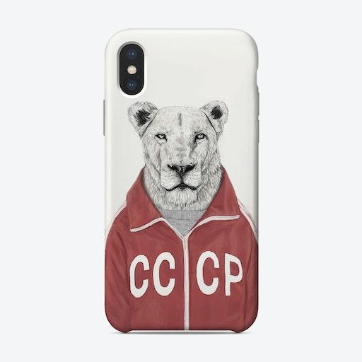 Soviet lion  iPhone Case