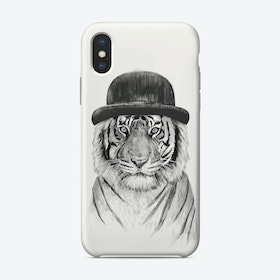 Welcome to the jungle tiger iPhone Case