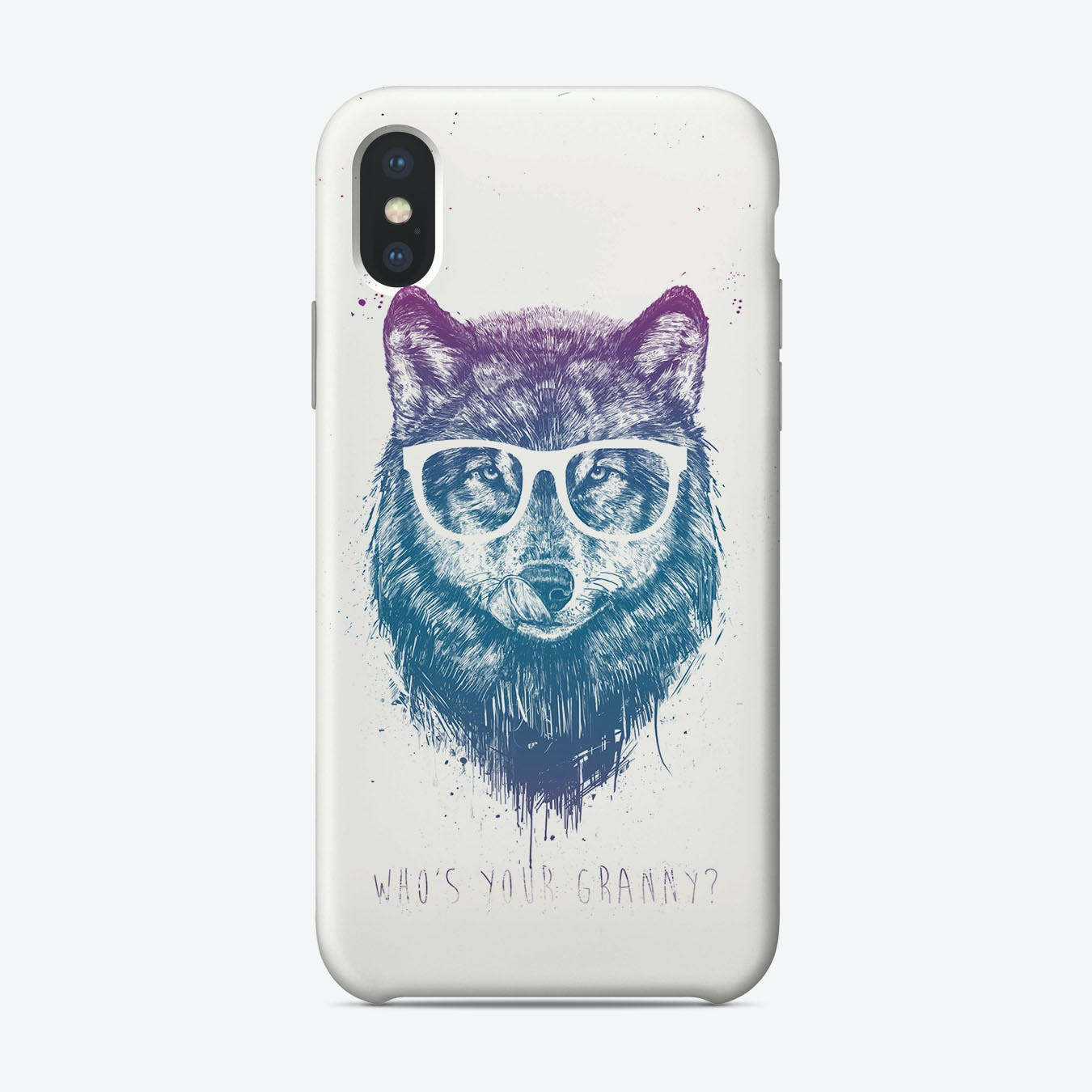 Who's your granny  iPhone Case