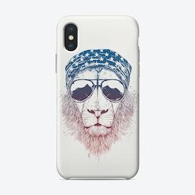 Wild lion  iPhone Case