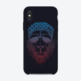 Wild lion (dark)  iPhone Case