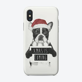 Xmas is coming  iPhone Case