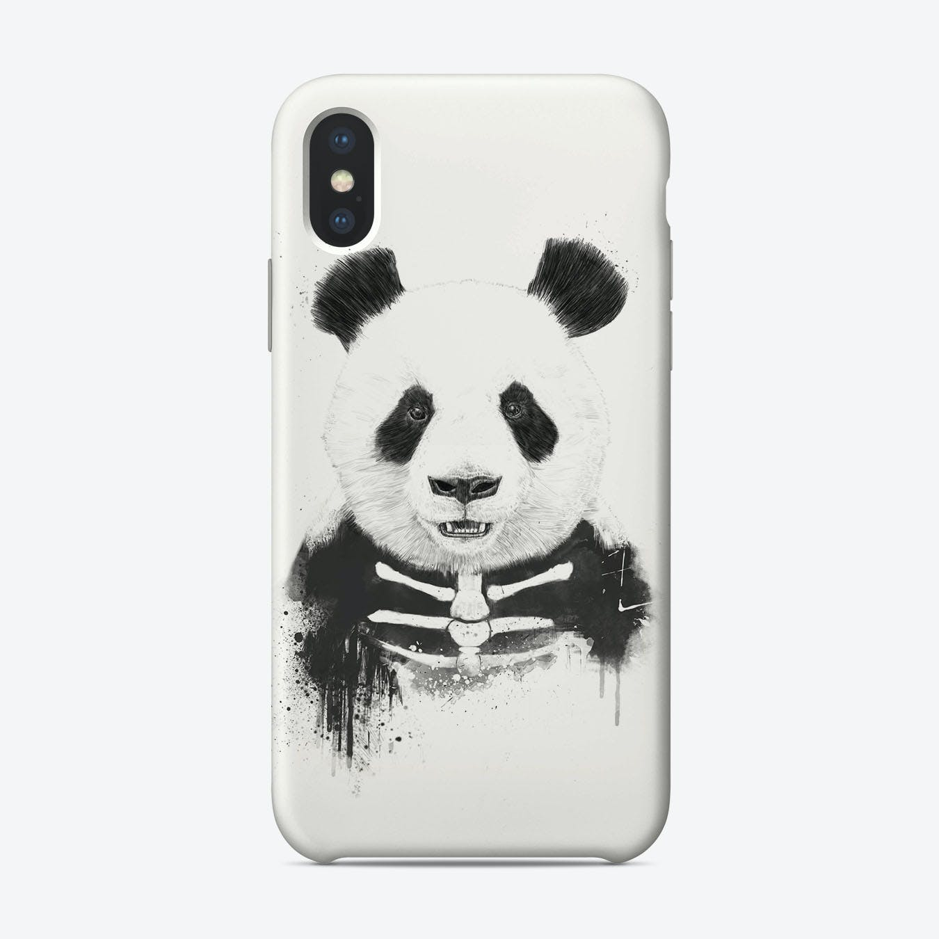 Zombie panda  iPhone Case