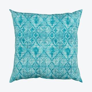 Square Indoor/Outdoor Pillow - Dark Teal