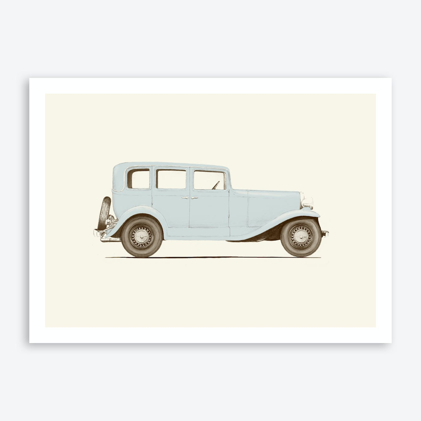 Car Of The 1930S Art Print