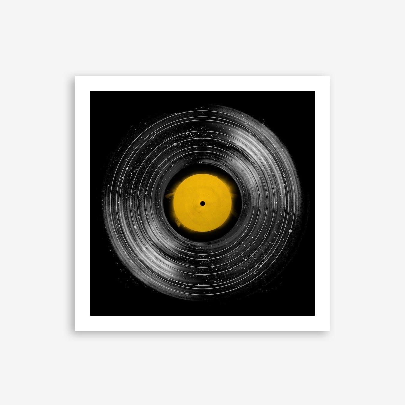 Sound System Print