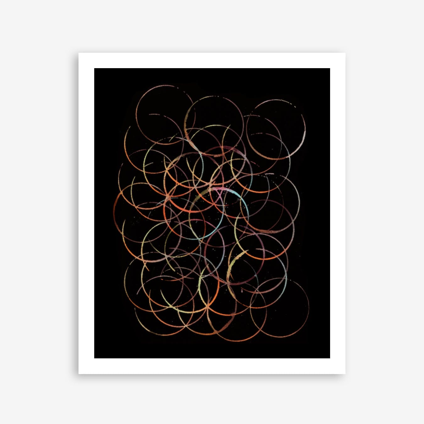 The Burning Circle Print