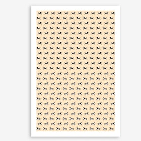 Unicorns Are Real In Pattern Art Print