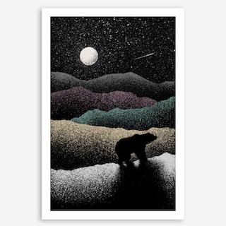 Wandering Bear Art Print
