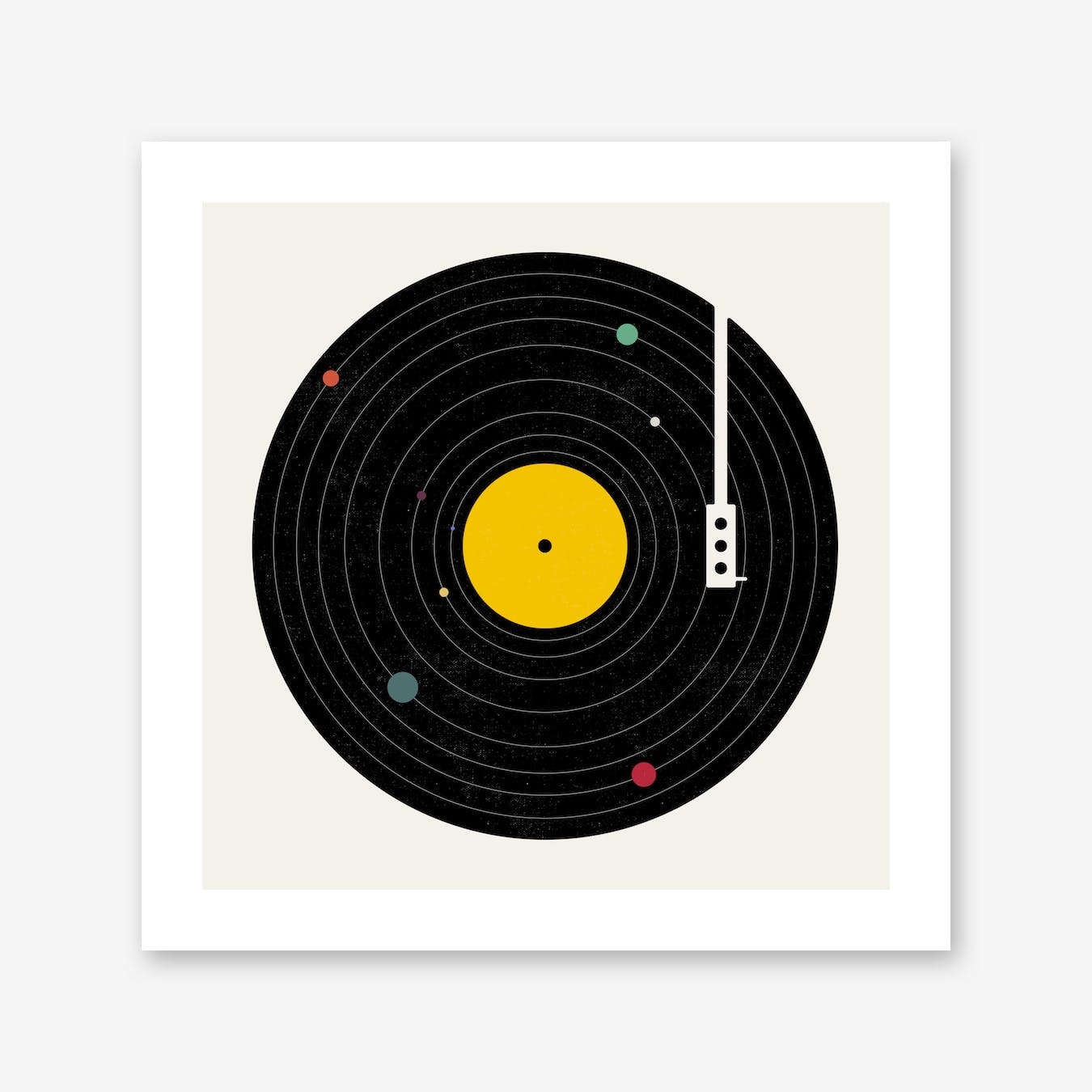 Music Everywhere Print