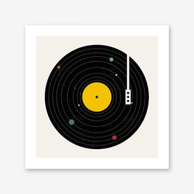 Music Everywhere Art Print