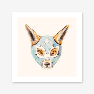 Andrew the Fox Wrestler Art Print