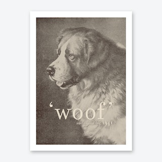Famous Quotes Dog Art Print