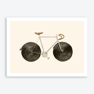 Licorice Bike Art Print