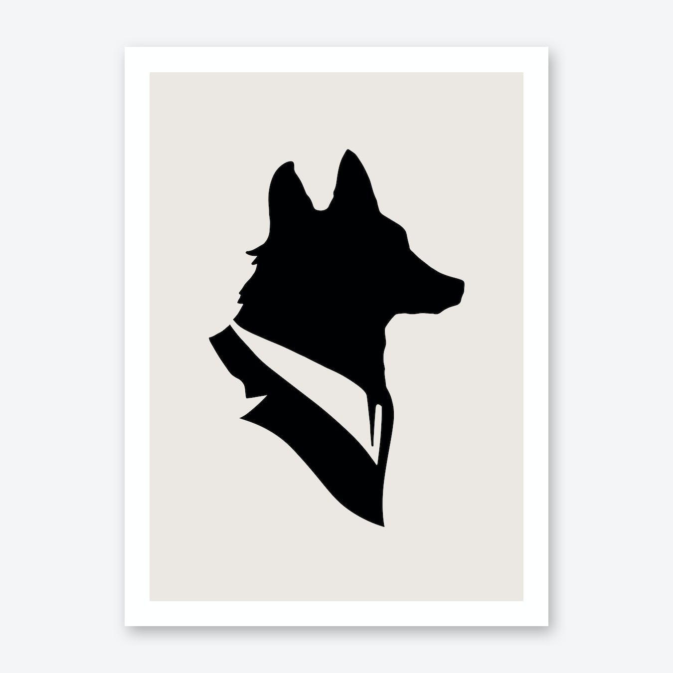 Monsieur Renard Art Print