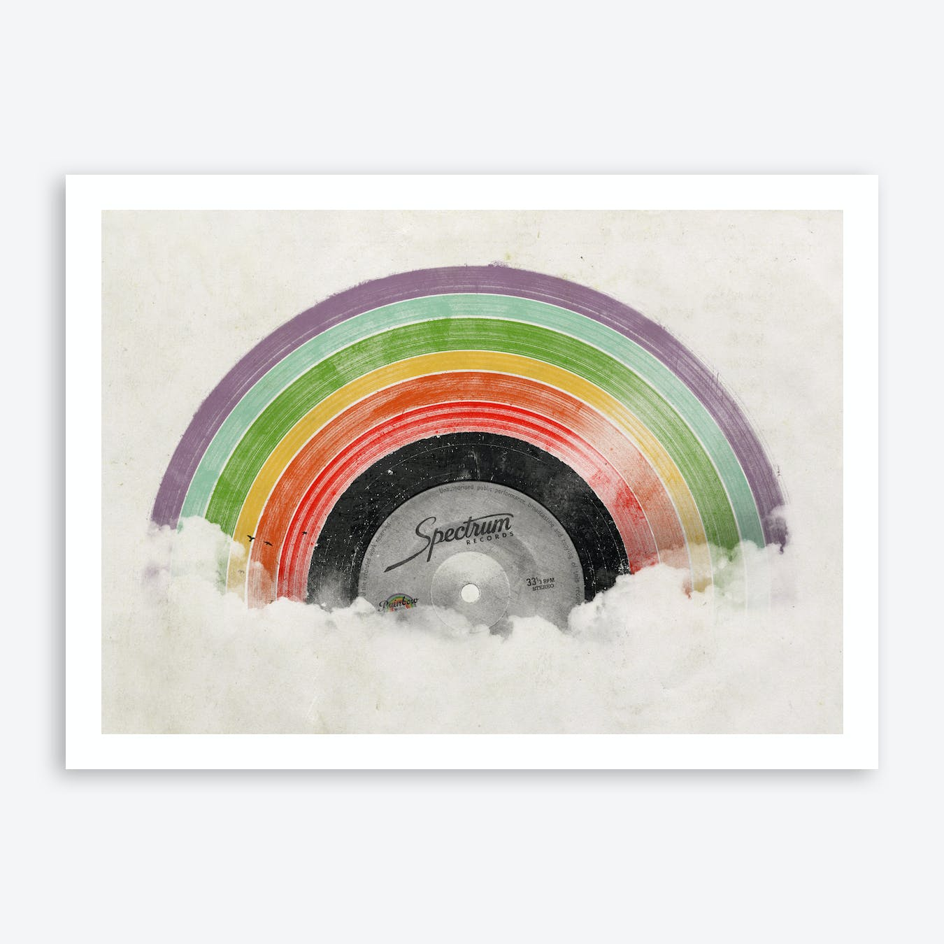 Rainbow Classics Art Print