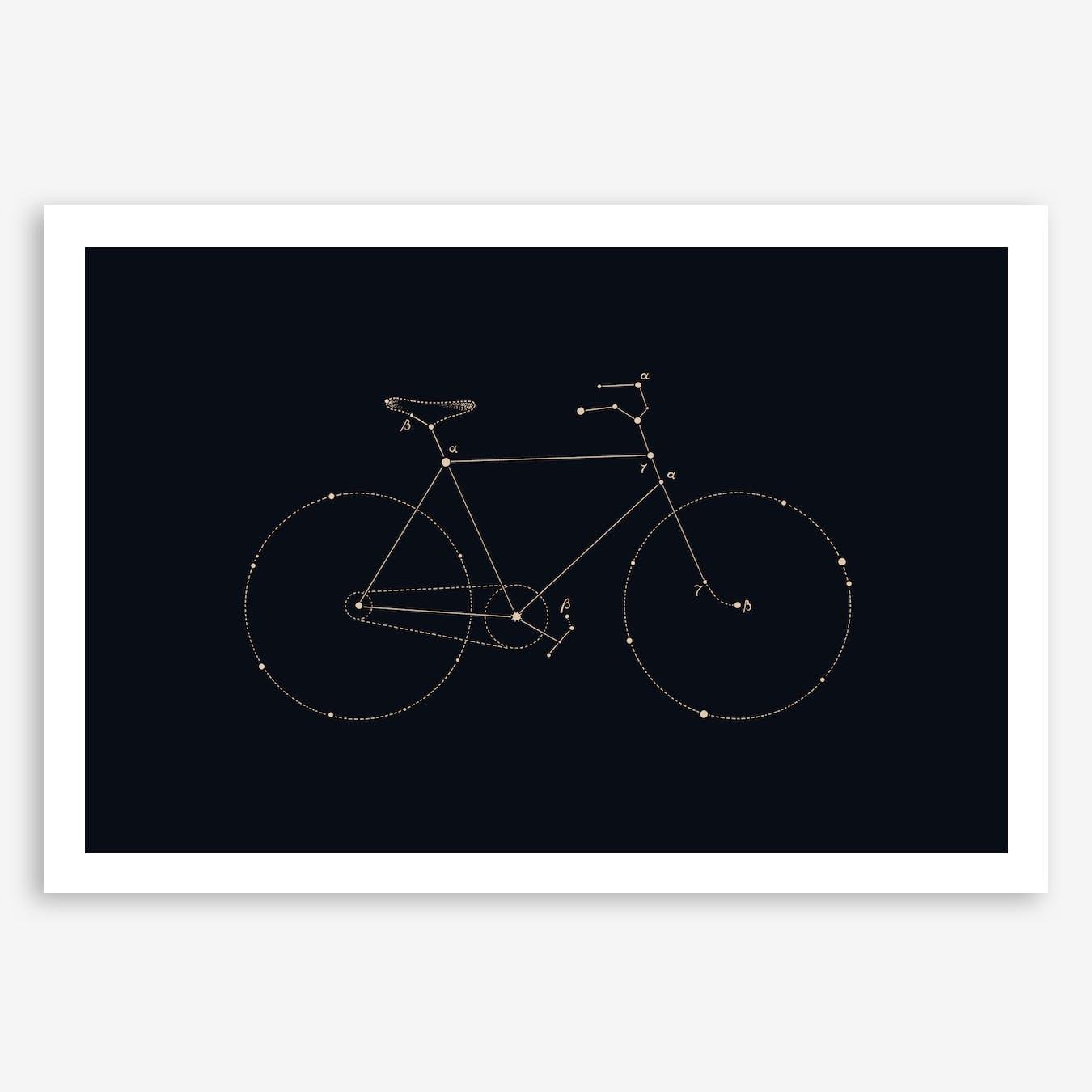 Bike Constellation Print