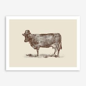 Cow Cow Nut Print