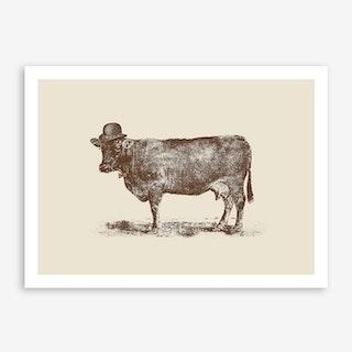 Cow Cow Nut Art Print