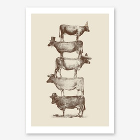 Cow Cow Nuts Print