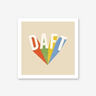 Daft Art Print