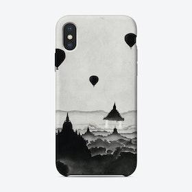Aurora - Rocket iPhone Case