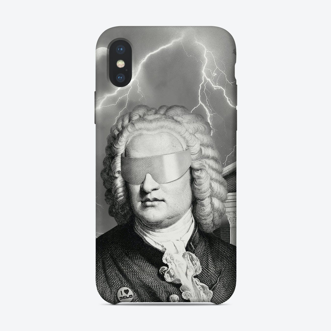 Bach to the Future iPhone Case