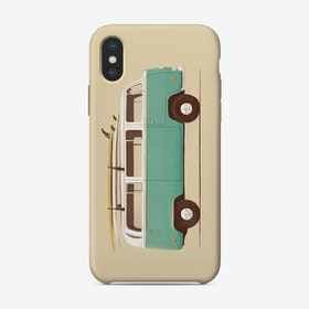 Blue Van iPhone Case