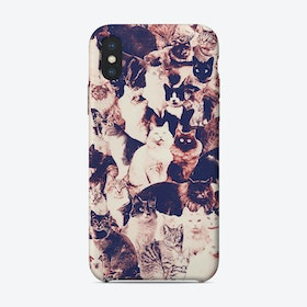 Cats Forever iPhone Case
