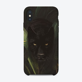 Hello Panther iPhone Case